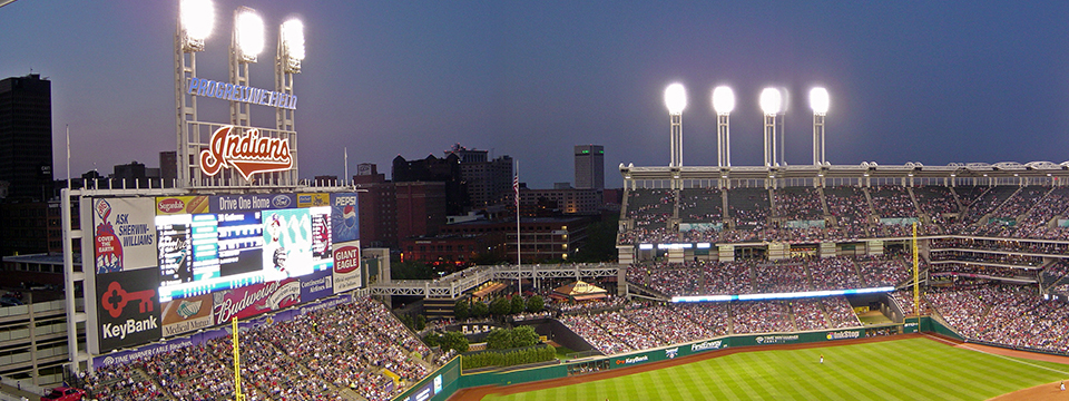Stop Before All Tribe Home Games, Walk to the Game